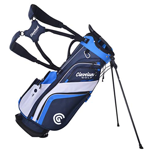 Cleveland Golf Stand Bag Nvy/Royal/Wht