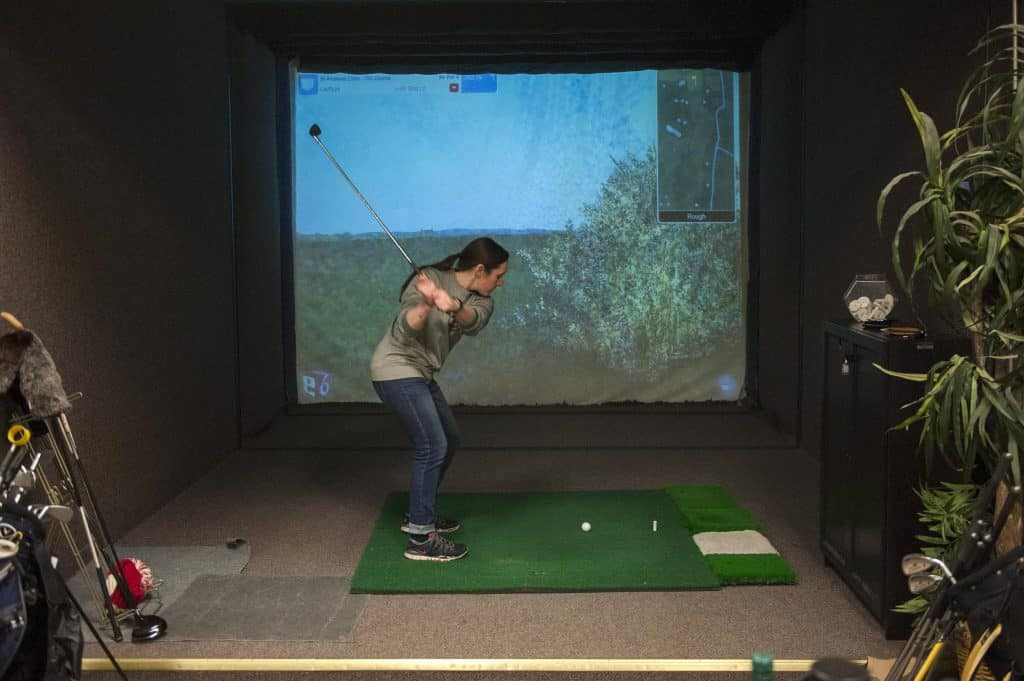 The Best Golf Simulator 2019 Home Projector Amp Affordable
